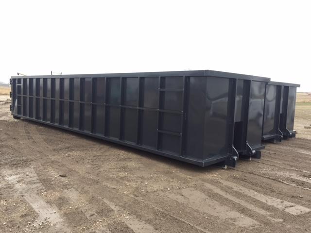 Commercial project- construction dumpster 1