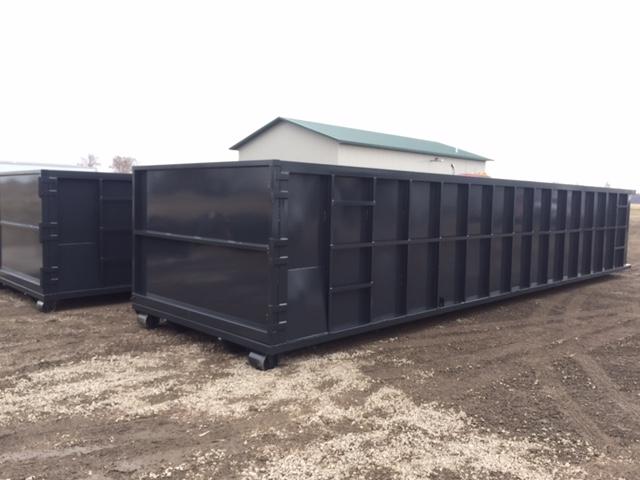 Commercial project- construction dumpster
