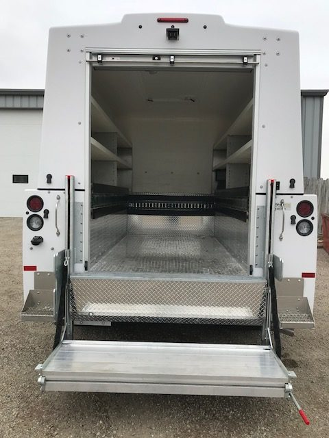 Install truck body & lift 2