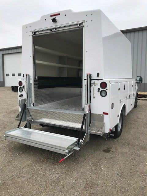 Install truck body & lift